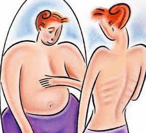 La anorexia un falso mundo